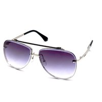 Top quality retro men sun glasses Brand luxury designer sunglasses fashion style square frame UV400 lens metal sunglass With box Free delivery 02K eyeglass