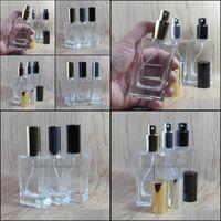Botellas tarros de almacenamiento Organización de la casa de la casa Home Garden50PCS / LOT 50 ml Spray de vidrio por botella Vacío Envases cosméticos Drop Entrega 2021