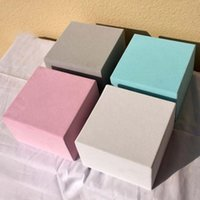 Velvet Romantic Square Flower Box Portable Gift Birthday Party Candy Holding Wrap Storage Wedding Packaging