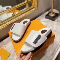 Velcro Platform Slippers Fance Luxury Designer Sandals For Woems Flat Shoe Flip Flop Indoor Girl Dress Vintage Ankle Socks Loafers