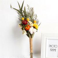 Dried Flowers Natural Floral Plants Real Bouquets Home Decor Photography Props Decorative Gypsophila Arrangement DIY Wedding Decoration Materials