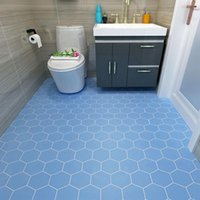 Self-adhesive Floor Wallpaper Bathroom Waterproof Stickers 3d Tiles Bedroom Kitchen Non-slip Wall Wallpapers