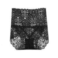 Slip Hot Spitze Unterwäsche Frauen Transparente Hohe Taille Weibliche PES Slip Fancy Unterhose Damen Dessous Plus Größe 3XL