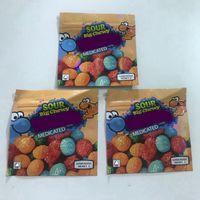 Vuoto 500mg ND Aid Edibles Edibles Confezione Mylar Borse 3.5G Gorilla Grella Grella ZKilez Bag di imballaggio rilasciabile 600 mg medicata Mike e Ike Zours Grand Big Twy Candy Package Baggies