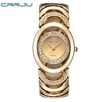 Designer luxury brand watches Gold Women bracelet Ladies Quartz- Gifts For Girl Full Stainless Steel Rhinestone wristes whatch