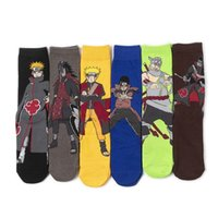 Parti Maskeleri Anime Naruto Cosplay Çorap Uzun Ayak Bileği Çorap Pözü Nakış Çorap Erkekler ve Kadınlar için