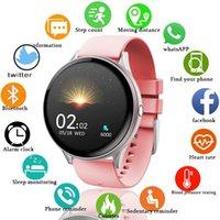 Mulheres Homens Smart Eletrônico Assista Luxo Pressão Sanguínea Relógios Digitais Moda Calorie Sport WristWatch Modo DND para Android iOS