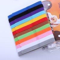 Bande de colliers de collier de col de chiot pour chiots pour chiens de chiens chaton chien chat velours velours pratique 12 couleurs ZWL729