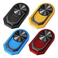 Supporto per telefono cellulare Rotazione a 360 gradi Porta telefonico magnetico multiuso Conveniente Porta pieghevole magnetico per smartphone