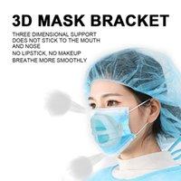 마스크 브래킷 PP 3D 얼굴 마스크 내부 지원 프레임 편안한 호흡 씻어 가능한 재사용 가능한 클리어 마스크 브래킷 277 S2