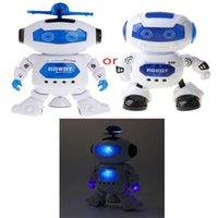 Jouets de robot de la promenade électronique avec éclairage de musique pour enfants A0521