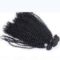 Brazilian Curly Curly Virgem Humano Weave Pacotes Não Transformânicos Peruanos Malaio Índico Camboja Mongólio Curly Remy Extensões