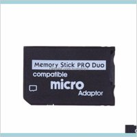 Micro SD к памяти Memory Stick Pro Duo Adapter совместимый MicroSD TF Converter Micro SDHC к MS PRO Duo Memory Stick Reader для Sony PSP Sry LSY7X