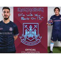 20 21 Lingard Fussball Trikots Iron Maiden Sonderausgabe 2020 2021 Camiseta de Fútbol Rice Soucek Noble Ham Bowen United Lanzini Football Hemd West