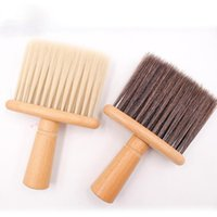 Hair Brushes Salon Stylist Barber Neck Face Duster Soft Brush Hairdressing Cutting Cleaner Accessories Hairbrush Sweep Comb Tools