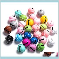 Aents Décor Home Gardenchristmas Crafts Bells Jingle Bells, 22Mm Big Diy For Bracelet Anklets Jewelry Making(Colorful,50Pcs) Decorative Obje