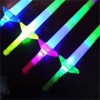 Télescopic Glow Sticks Flash Light Up Toy Fluorescent Swefe Concert Activités Props Stick Stick Stick-Carrelaval Noël 166 V2