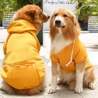 Ropa para perros de mascotas para pequeños perros medianos con capucha de perros con capucha de abrigo de cachorro de perrito Pags Teddy Golden Retriever Chaqueta Tamaño XS a 5XL con bolsillo y sombrero
