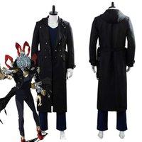 Boku No / My Hero Academia Cosplay Shigaka Tomura Cosplay Kostuum Volwassen Mannen Dames Trench Cloak Coat Pak G0913