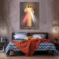 Peinture à l'huile de Jésus sur toile Décor à la maison Décor à la main HD imprimé mur d'art Picture personnalisation est acceptable 21043024