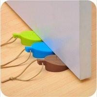 Blatt-Silikon-Gummi-Tür-Stopper-Kind-Anti-Pinch-Hand-Kinderschutz-Tür-Karten-Stopp-Stummschaltung kann CCF6946 aufgehängt werden
