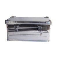 heavy duty aluminum tool box portable safety equipment instrument case suitcase multi functional profile hardware convenient Storage