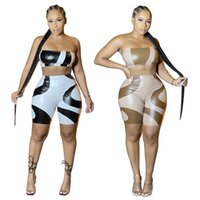 Women 2 Piece Ethika Set Designer Tracksuits Vest + Pants Two Pieces Jogger Suit Biker Shorts Tube Crop Top Sets Nightclub Outfits Slim Breathable Fitness Swimsuit