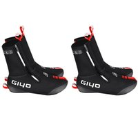 Cyclisme Chaussures Giyo 2Pair Road Shoe Couvre-chaussures d'hiver Couvre-chaussures thermiques thermiques pour femmes hommes M