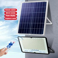 1200lux 128LED Solar Panel Light With 5Meter Cable Outdoor Lamp Sun Night Waterproof Garden Emergency LED Lights