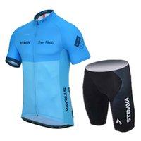 Strava Takım Pro Bisiklet Jersey Önlüğü Şort Set Yol Bisikleti Giyim Ropa Ciclismo Yaz Erkekler MTB Bisiklet Giysi Spor Üniforma 32062