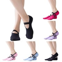 2021 Yoga Backless Quality yoga socks women pilates women's ballet yoga dance low to help socks anti-skating cotton socks