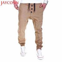 Jaycosin recién 2018 pantalones para hombre pantalones de pantalones harem pantalones halagos casual jogger danza deportiva ropa holggy dropshippiendo ago 9 m6d5 #