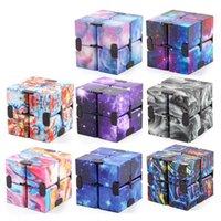 무한대 마법 큐브 Fidget 장난감 크리 에이 티브 하늘 Antistress Office 플립 큐빅 퍼즐 미니 블록 압축 해제 장난감