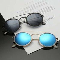 Uniq Wholale Gafas de sol 2021 человек мужские маленькие ретро круглые поляризованные солнцезащитные очки UV400