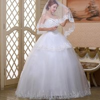 1.5m Length Bridal One Layer Lace Flower Edge White Ivory DIY Party Dress Cathedral Wedding Veil Long Accessories Hair1