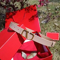 Unisex Fashion Mens Womens Belts Designer Betls per le donne Uomo Brand Belt Bronze Bronze Buckle con scatola larghezza 3,0 cm 202105185xv