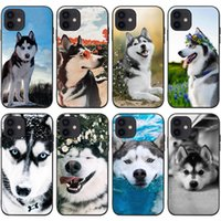 Mobile Cell Phone Cases For Iphone 13 13mini 13pro 13promax 12promax 12 12pro 12mini 11promax 11pro 11 Xsmax Xr X xs 7 8 6 Cellphone Case Animal Puppy Husky Dogs