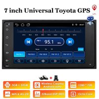 """4 Core 2Din 7 """"Android 10 2G / 1G voiture GPS Pas de lecteur DVD pour Corolla E120 Toyota Rav4 Hilux Fortuner Innova Prado Hiace Previa"""