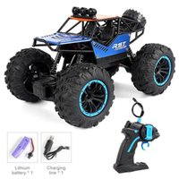 Rc Car Toys 1:18 Scale Rc Car 4d Off Road Vehicle Radio Remote Control Car High-speed Drift a Carro Wpld12 Q0726