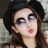 Wetc Style GlassestRend SGLASSESSFRAMESFRASTRALEST المرأة الأكبرات النظارات نظارات الدراجات زجاجي قنوي