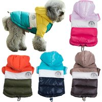 Dog Apparel Winter Warm Pet Jacket Coat Thicken Cotton Puppy Christmas Costumes Hoodies Clothes For Small Medium Dogs Cat Yorkshir