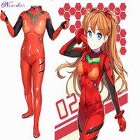 Eva Anime Cosplay Asuka Langley Soryu Ayanami Rei Shinji Ikari Mari Makinami Cosplay Kostuum Dames Anime Bodysuit Zentai Suit G0913