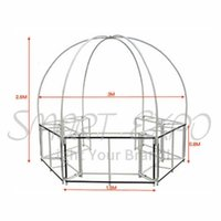 Advertising display equipment Sale Outdoor Customize Super Round Dome Kiosk Portable Collapsible and Mobile Food Kiosks Booth Tent FBYJ