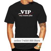 Men's T-Shirts Funny T Shirt For Men Clothing Vip Glider Pilot Gift Sporter Tshirt Slim Fit Camiseta Cotton Short Sleeve