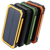 Hight Quality Tollcuudda 20000mAh Solar Powerbank For LG Phone Power Bank Charger Battery Portable Mobile Pover Bank Powerbank Fedex