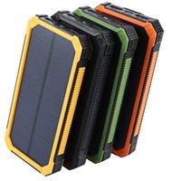 هايت الجودة tollcuudda 20000mAh الطاقة الشمسية powerbank for lg الهاتف قوة البنك شاحن البطارية المحمولة المحمول pover bank powerbank فيديكس