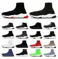Balencaiga balanciaga balenciaca Speed men womens trainer Sock 1.0 Walking Shoes Hott Selling Original Paris Lady Black White Red Lace Socks Sneakers Boots Clear Sole Sneaker