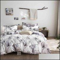 Supplies Textiles Home & Gardenlovinsunshine Comforter Bedding Sets King Duvet Quilt Er Set Queen Size # 2153 V2 Drop Delivery 2021 Lif4K