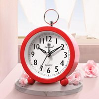 Other Clocks & Accessories Mute Alarm Clock Student With Stylish Simple Personality Multifunctional Bedside Cute Creative Battery