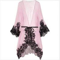 Local Stock Sexy Sleepwear Women Dress Chemise Kimono Sleep Nightie Gown Bath Robe Coat Jacket
